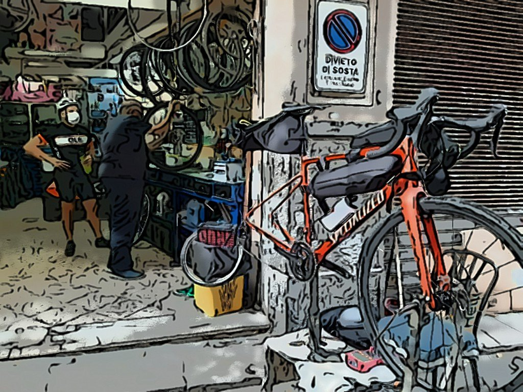 Campania in bici Ciclourismo e Ciclofficine
