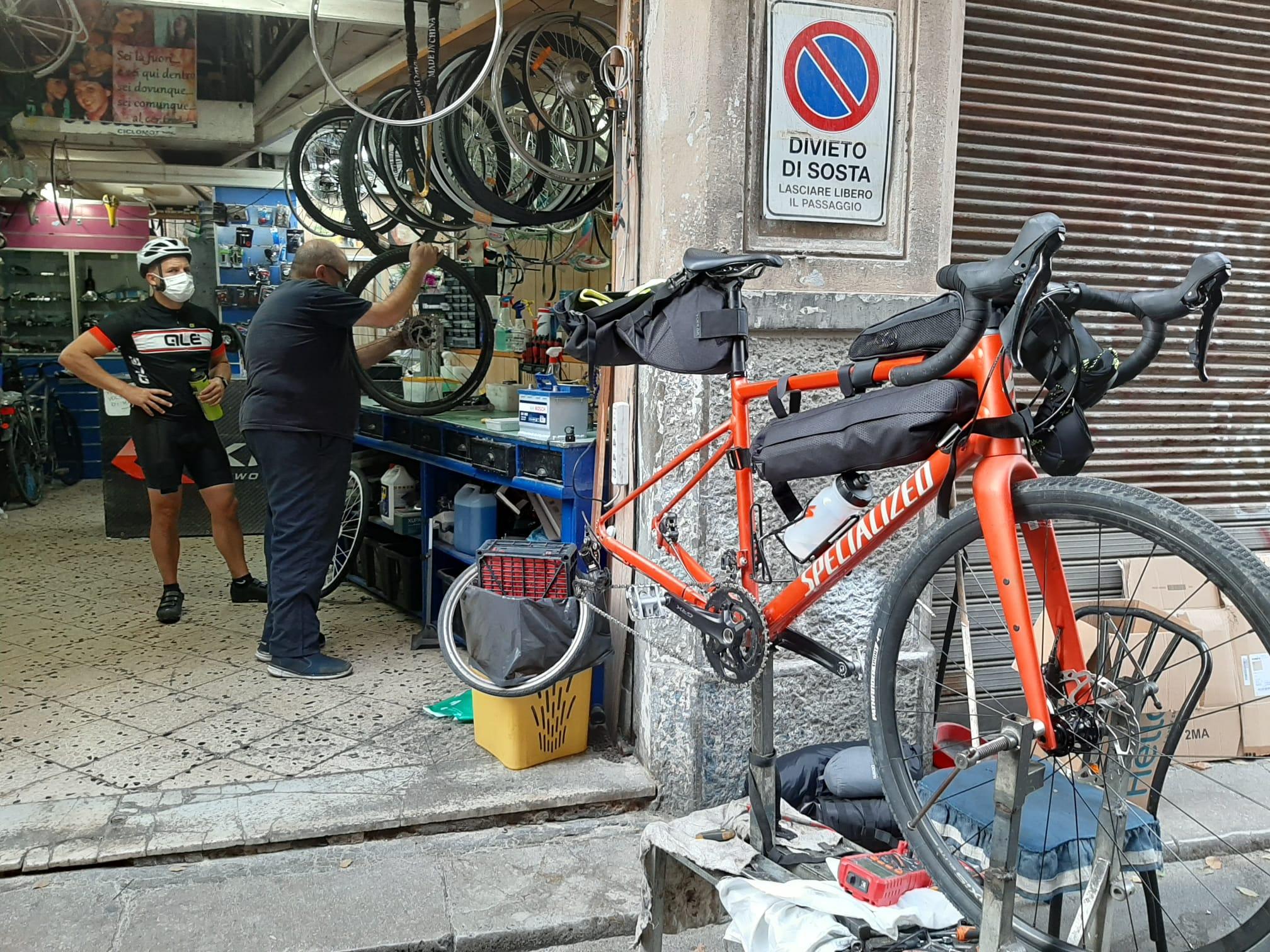 Ciclofficina a Palermo Prestigiacomo Bici
