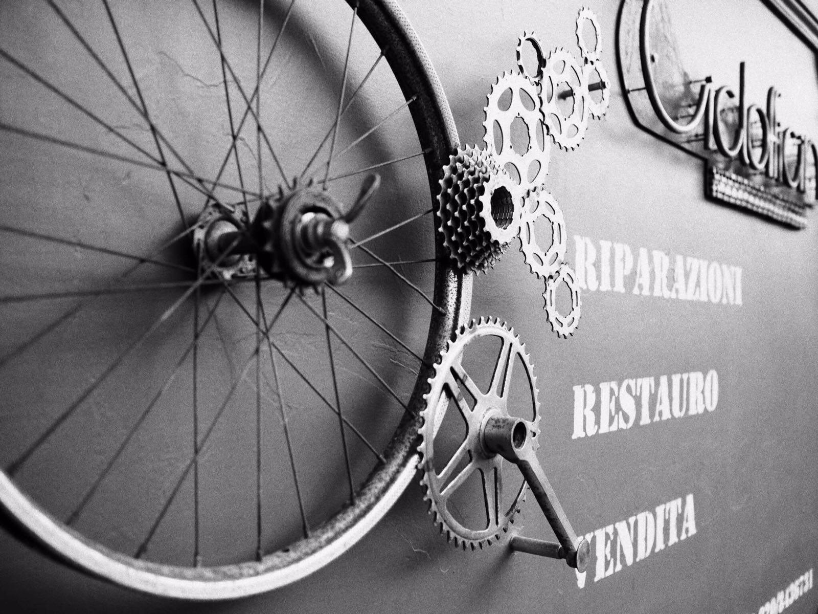 Attilio Pavone ciclofficina a MOntesilvano Pescara Abruzzo