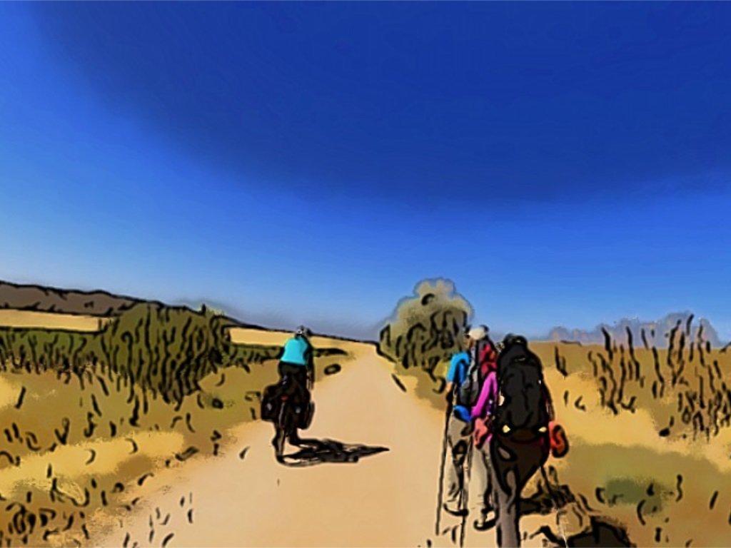 Percorsi in bici in Umbria cammini in bici