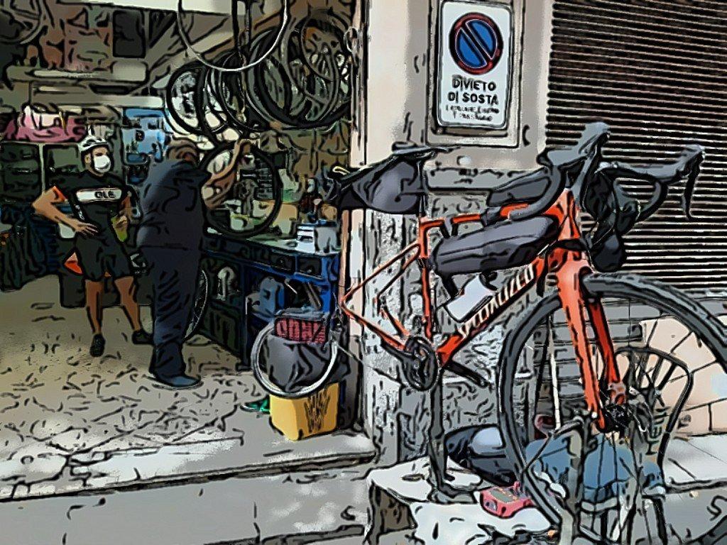 Umbria in bici ciclofficine