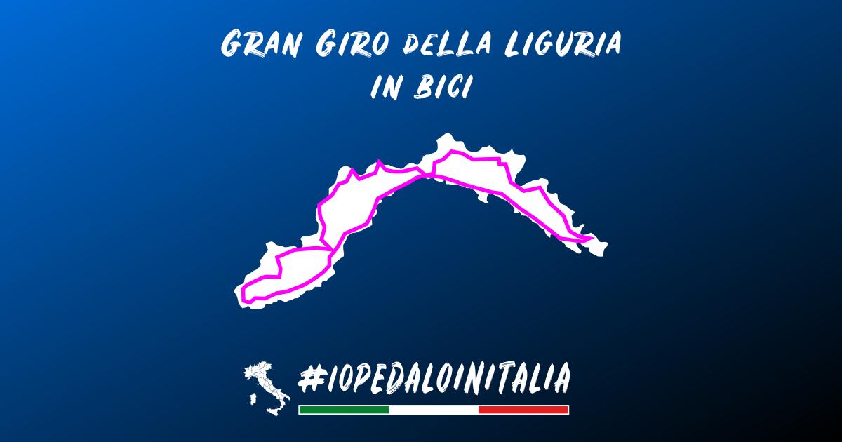 Giro della Liguria in bici