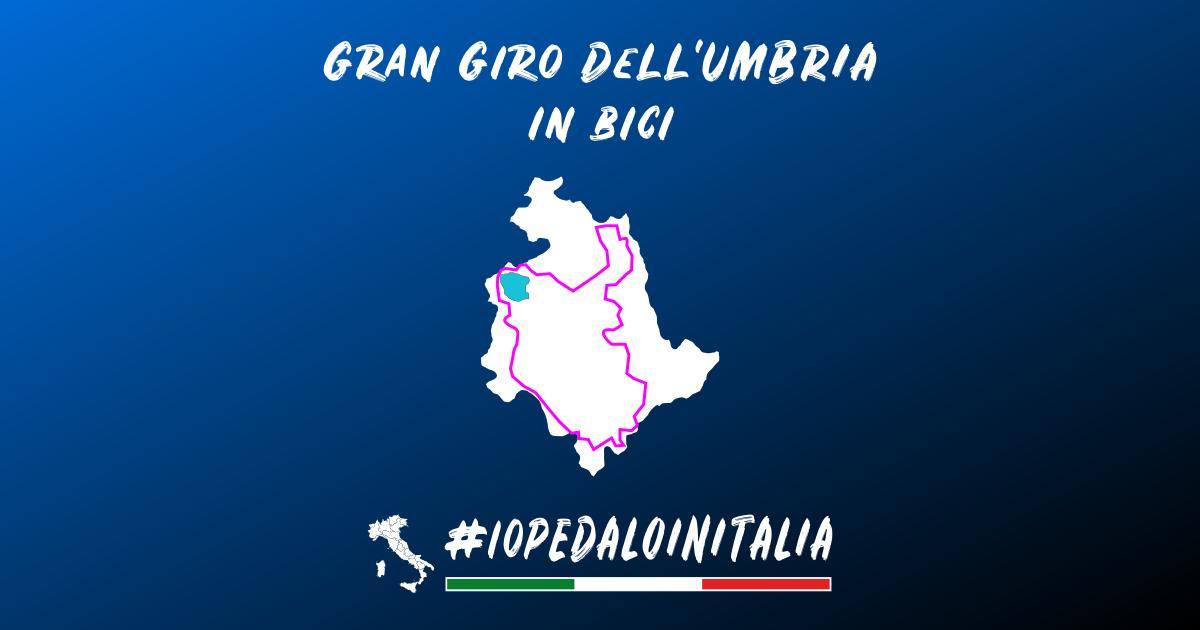 giro dell'Umbria in bici